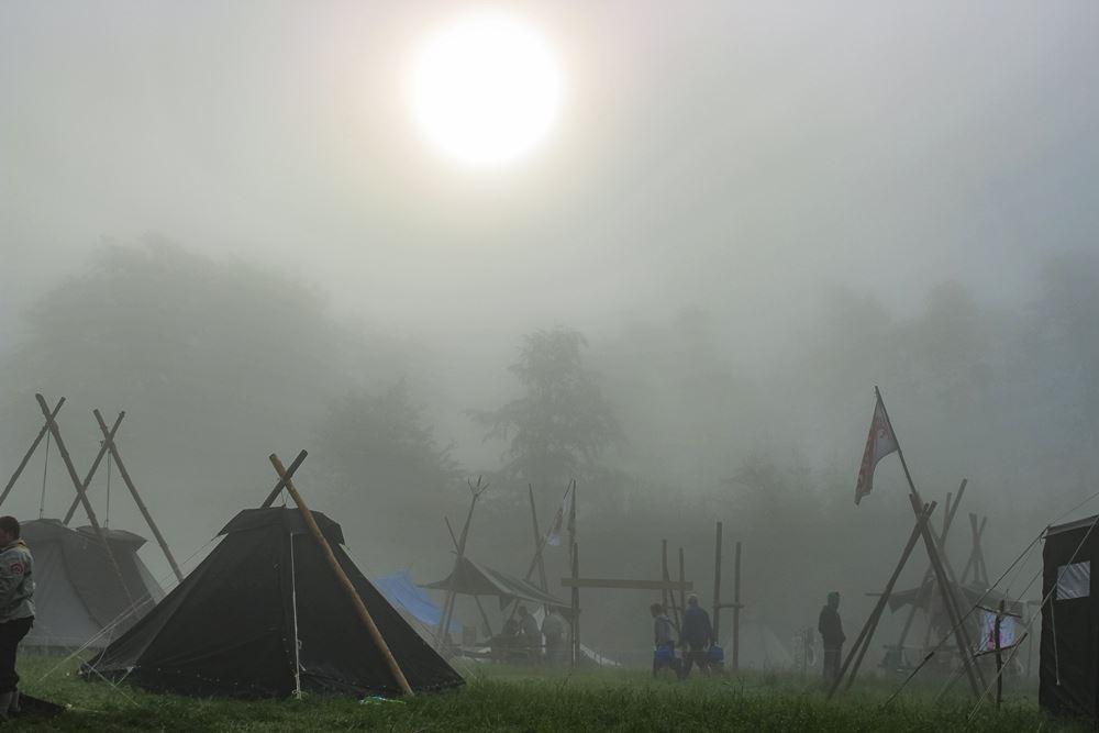Nebel camp Pfadfinder Butzbach
