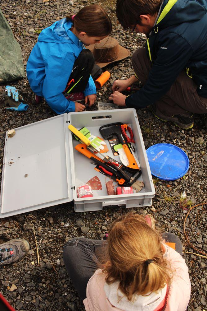 Werkzeuge Pfadfinder Butzbach
